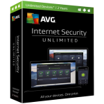 AVG Internet Security - 2 Year, Unlimited Devices (Download)