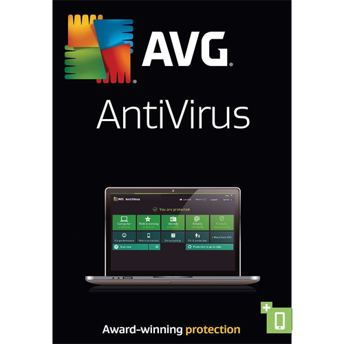AVG AntiVirus - 1 Year, 1 PC (Download)