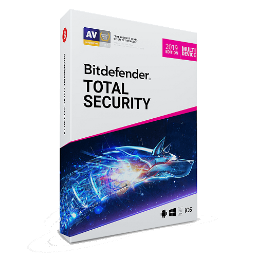 Bitdefender Total Security - 1 Year, 5 Devices (Download)