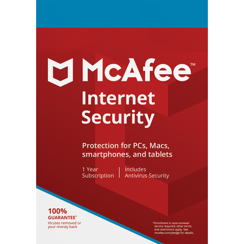 McAfee Internet Security - 1 Year, 1 Device (Download)